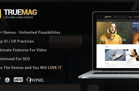 True Mag v4.3.0 - Wordpress Theme Free Download