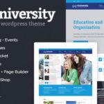 University v2.1.3.8 - WordPress Theme Free Download