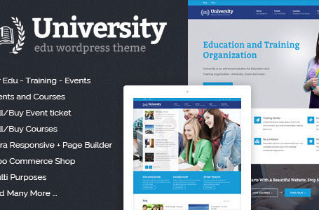 University v2.1.3.8 - WordPress Theme Free Download