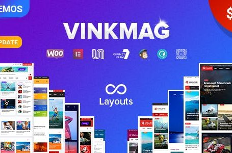 Vinkmag v2.3 wordpress theme free download